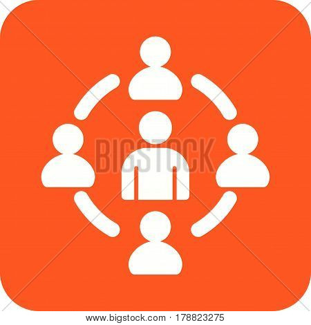Target, goals, oriented icon vector image. Can also be used for business administration. Suitable for use on web apps, mobile apps and print media.