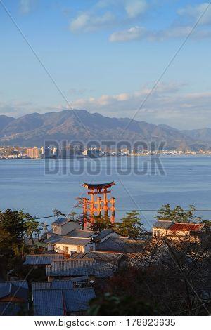 Miyajima, The Famous Floating Torii Gate, Japan