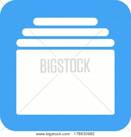 Web, tabs, website icon vector image.Can also be used for web interface. Suitable for mobile apps, web apps and print media.