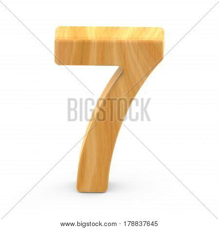 Wooden Grain Number 7