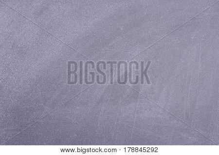 Black school board with Cretaceous divorce. Horizontal background board