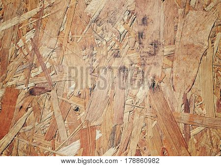 Oriented strand board (OSB) background of texture.