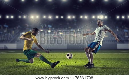 Hot moments of soccer match