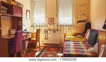 Details of the children's room interior lifestyle.