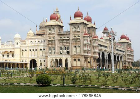 The Ancient Mysore Palace On India
