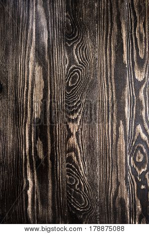 natural brown wall wood texture background with knots