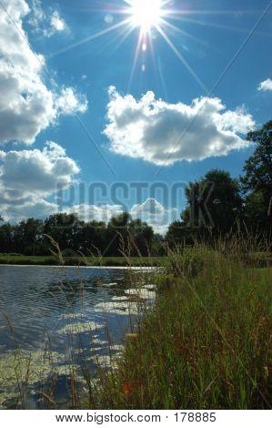 ein Teich