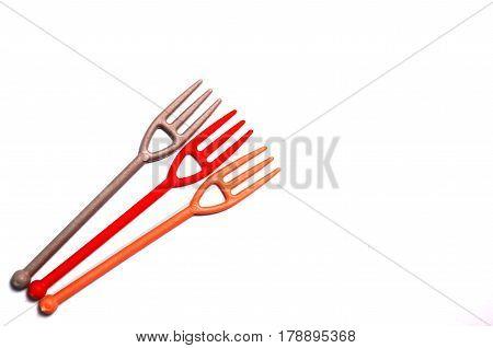 Plastic Dispsable Fork