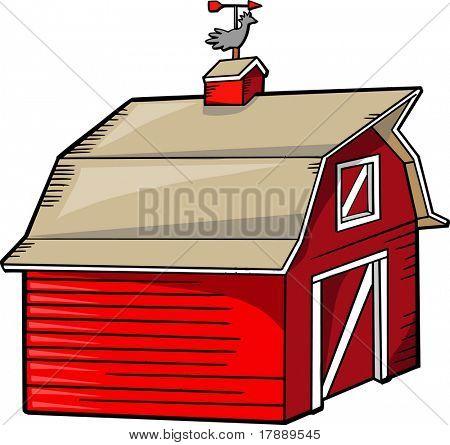Barn Vector Illustration