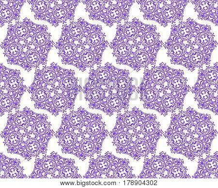 Vector seamless pattern background. Elegant luxury texture for  backgrounds and page fill.