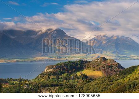 The Mountains Near Queenstown New Zealand