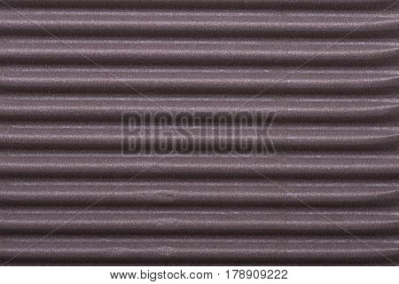 Corrugated Brown Background