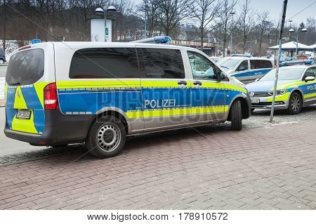 Mercedes Benz Vito Van, Modern German Police Car