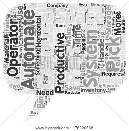 Move Inventory Not Workers text background wordcloud concept
