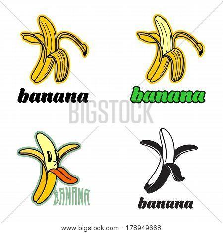 Banana Logo Templates