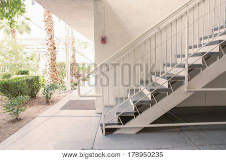 Outdoor Concrete Staircase