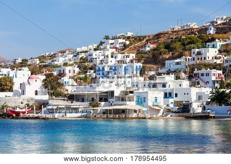 Mykonos City Harbour, Greece