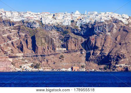 Fira Town, Santorini Island