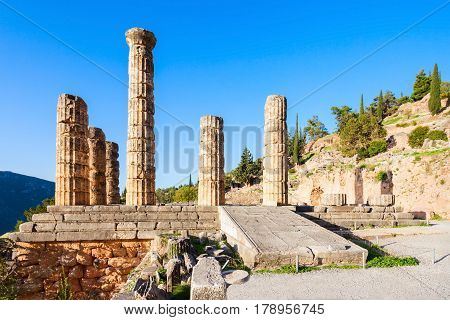 Delphi Ancient Sanctuary, Greece