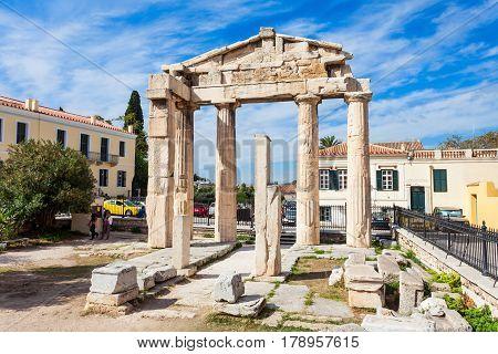Athena Gate, Roman Agora