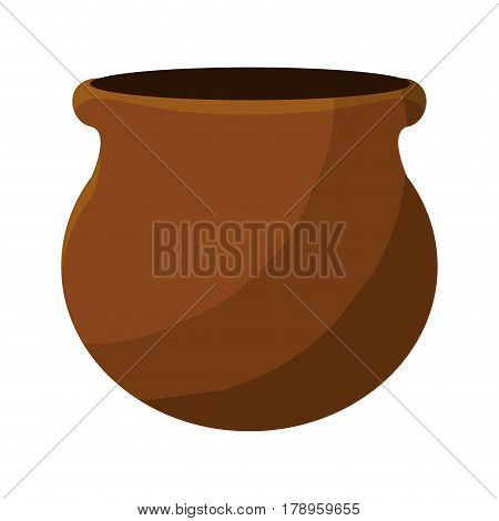 nice flowerpot plant decoration, vector illustration design