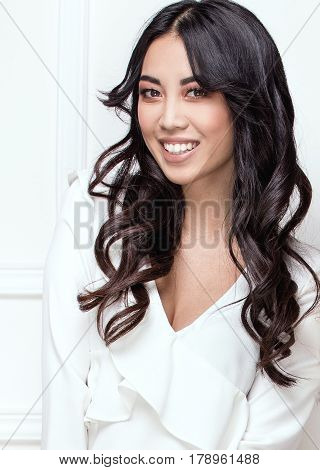 Beauty Portrait Of Young Asian Girl.