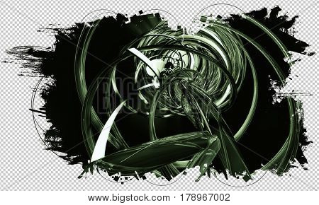 3d futuristic background