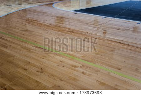 Wood flooring. New gym with beautiful wood flooring. Three different wood floors. Basketball wood floors. Gym wood flooring.