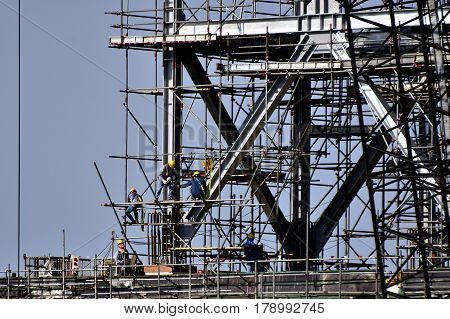 Scaffolding Elements Construction . Scaffolding Elements Construction .