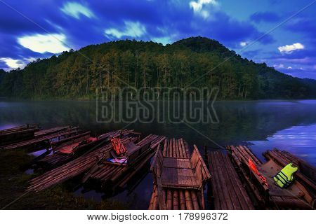 Pang Ung lake, Pang Ung Mae Hong Son province, North of Thailand