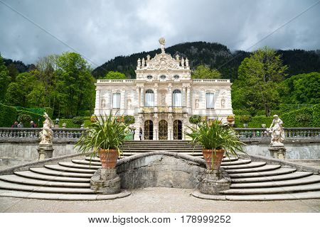 Schloss In Germany - Linderhof Palace.