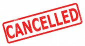 cancelled stamp on white background. cancelled stamp sign. poster