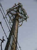 photo of a mobile phone tower in Burwood Victoria. i believe it is owned by vodaphone poster