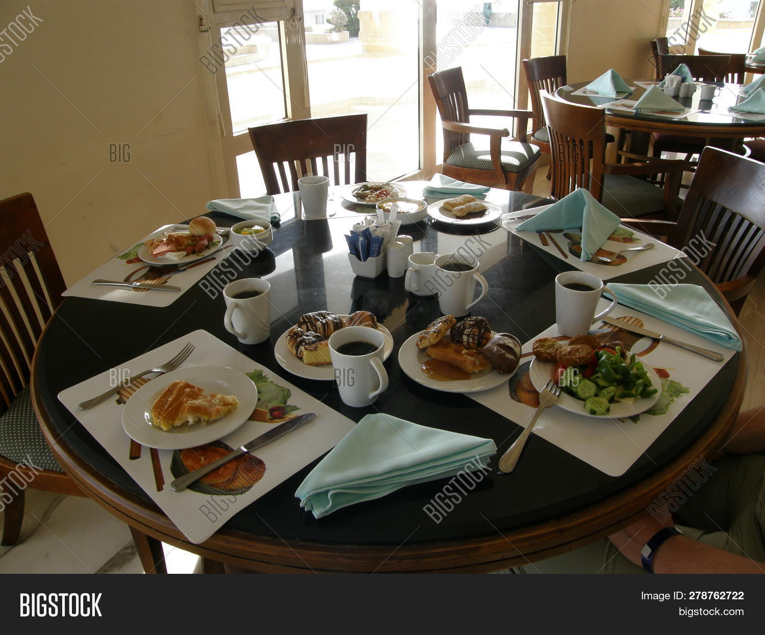 Table Food Drink Plate Image Photo Free Trial Bigstock