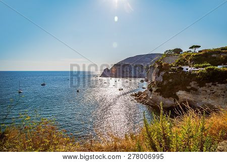 A View Of Sant Angelo On Island Ischia, Italy