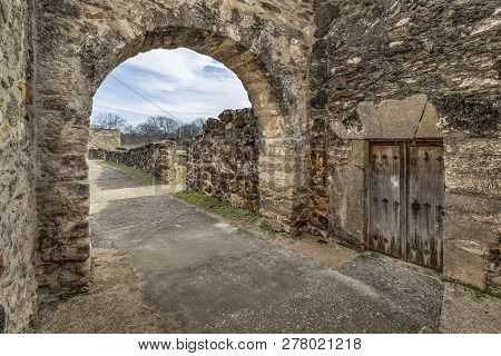 Inside The Mission Gate