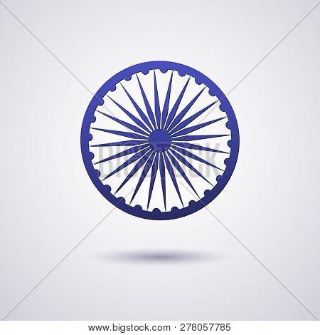 The Wheel Symbol On The India Flag Is Dharmachakra Ashoka Chakra Wheel Of Law Ancient Indian Solar S