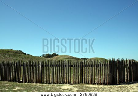 Battlefield At Fort Fiser