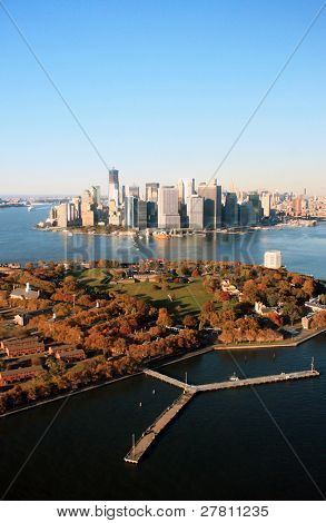 Governor's Island and Lower Manhattan