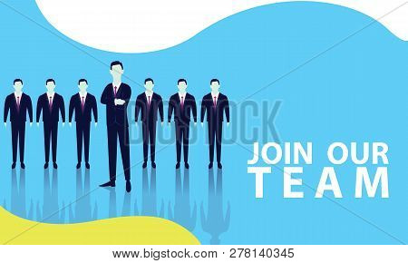 Join Our Team, Vector Illustration