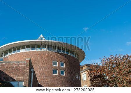 Brighton, England-19 October, 2018: The Building Of Secondary School For Children Dorothy Stringer S