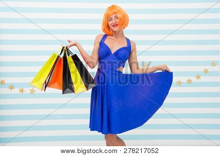 Choosing The Best. Fashion. Black Friday Sales. Last Preparations. Big Sale In Shopping Mall. Crazy
