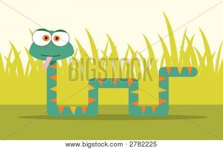 Square Animal Snake