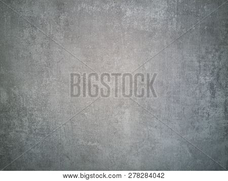 Gray Concrete Background. Cement Wall Texture With For Background. Marble Cement Texture, Natural Pa