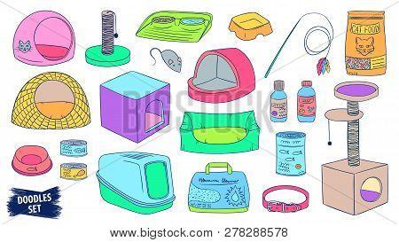 Pet Shop Doodles Set. Cat Care Products. Veterinary Accessories. Cat Food. Pet Supplies. Litter. Scr