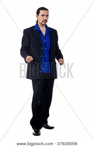 Retro business man