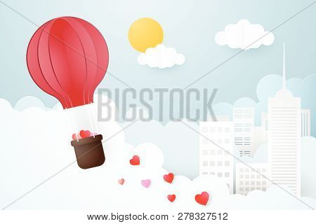 Creative Of Love Valentines Day Concept.