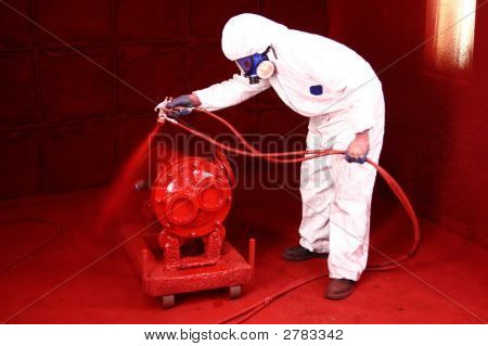 Industrial Paint Spraying