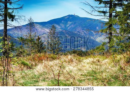 Lysa Hill In Beskydy Mountains