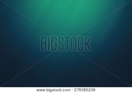 Teal Abstract Glass Texture Background, Design Pattern Template With Copyspace